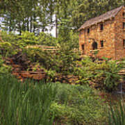The Old Mill And Pond Poster