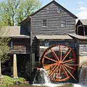 The Old Mill In Pigeon Forge Poster by Roger Potts