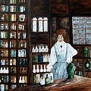 The Old Pharmacy ... Medicine In The Making Poster
