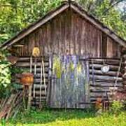 The Old Tool Shed II Poster by Lanita Williams