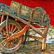 The Old Wheelbarrow Poster