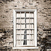 The Old Window Poster by Olivier Le Queinec
