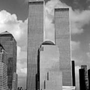 The Old Wtc Poster by Joann Vitali