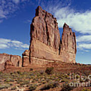 The Organ, Arches National Park, Utah Poster