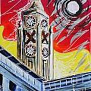 The Oxo Tower Poster