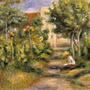 The Painters Garden, Cagnes, C.1908 Poster
