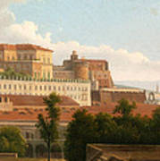 The Palazzo Reale And The Harbor. Naples Poster