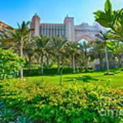 The Palm - Atlantis - Dubai Poster by George Paris