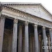 The Pantheon Rome Poster