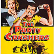 The Party Crashers, Connie Stevens Poster