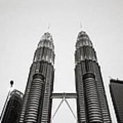 The Petronas Towers Malaysia Poster