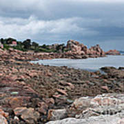 The Pink Granite Coast Brittany Poster