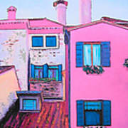 The Pink House Poster