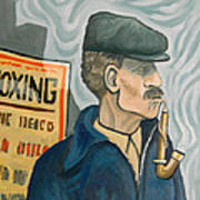 The Pipe Smoker Poster