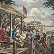 The Polling, Illustration From Hogarth Poster