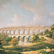 The Pont Du Gard, Nimes Poster
