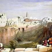 The Pool  Of Bethesda Jerusalem Poster