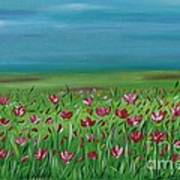 The Poppy Field Poster