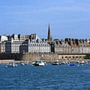 The Port Of St Malo France Poster