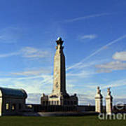 The Portsmouth Naval Memorial Southsea Poster