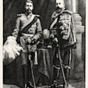 The Prince Of Wales And Prince George Of Wales Poster