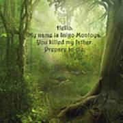 The Princess Bride - Hello Poster