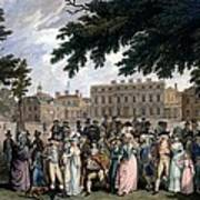The Promenade In St James Park, C.1796 Poster