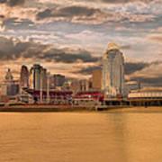 The Queen City Cincinnati Poster
