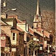 The Quintessential Semiquincentennial - Shepherdstown Wv  Poster