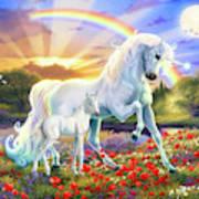 The Rainbow Unicorn Poster