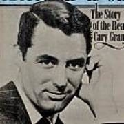 The Real Cary Grant Poster