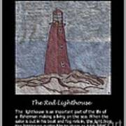The Red Lighthouse Poster