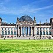 The Reichstag Building Berlin Germany Poster