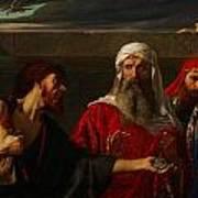 The Remorse Of Judas Poster