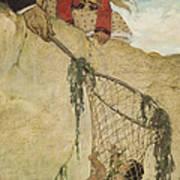 The Rescue Circa 1916 Poster