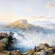 The Rhine Falls At Schaffhausen Poster