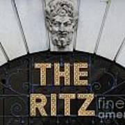 The Ritz London Poster