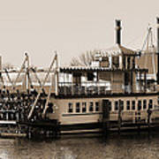 The River Lady Toms River New Jersey Poster