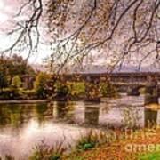 The Riverside At Avenham Park Poster