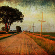 The Road Home Poster by Julie Hamilton
