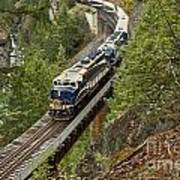 The Rocky Mountaineer Poster