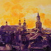 The Roofs Of Lublin Poster