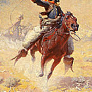 The Roping Poster