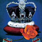 The Rose & Crown Poster