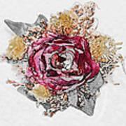 The Rose Poster by Susan Leggett