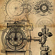 The Rotary Engine Poster