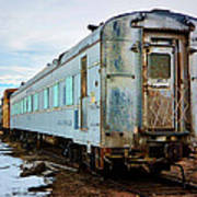The Roundhouse Evanston Wyoming Dining Car - 1 Poster