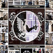 The Royal Connaught Crest Photo Collage Poster