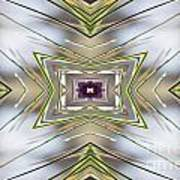 The Sacred Pine Mandala Yantra Poster