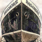 The Sagamore Dry Dock Poster